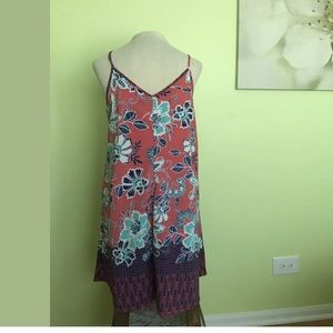 NWOT Trixxi Crossed Top, Colorful dress, Size XL